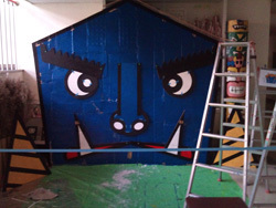 オニの家  塗装.jpg